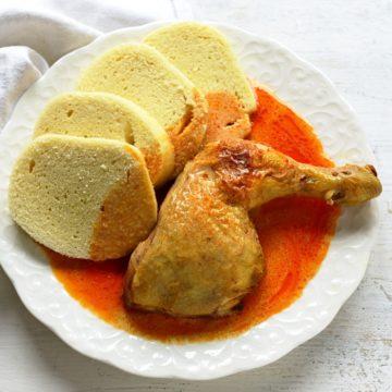 paprika hähnchen sahne mit knödeln rezept
