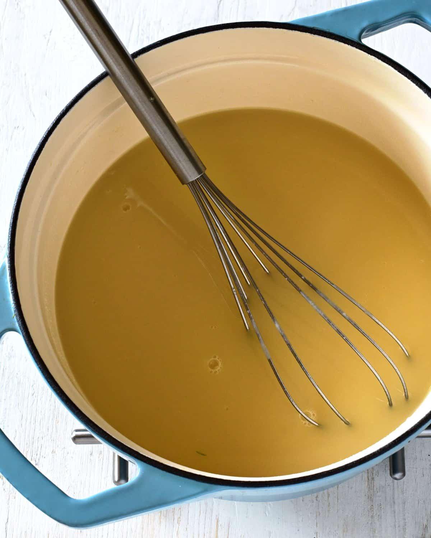 Kulajda Suppe Zubereitung