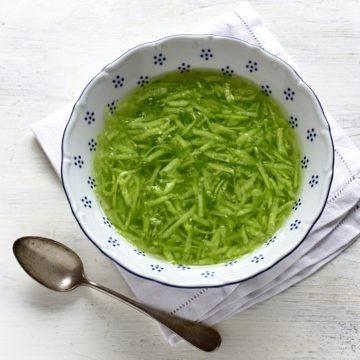 gurkensalat mit essig rezept