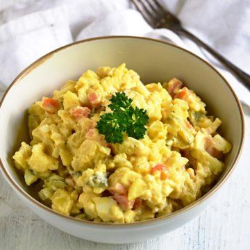 Kartoffelsalat mit Mayo Rezept