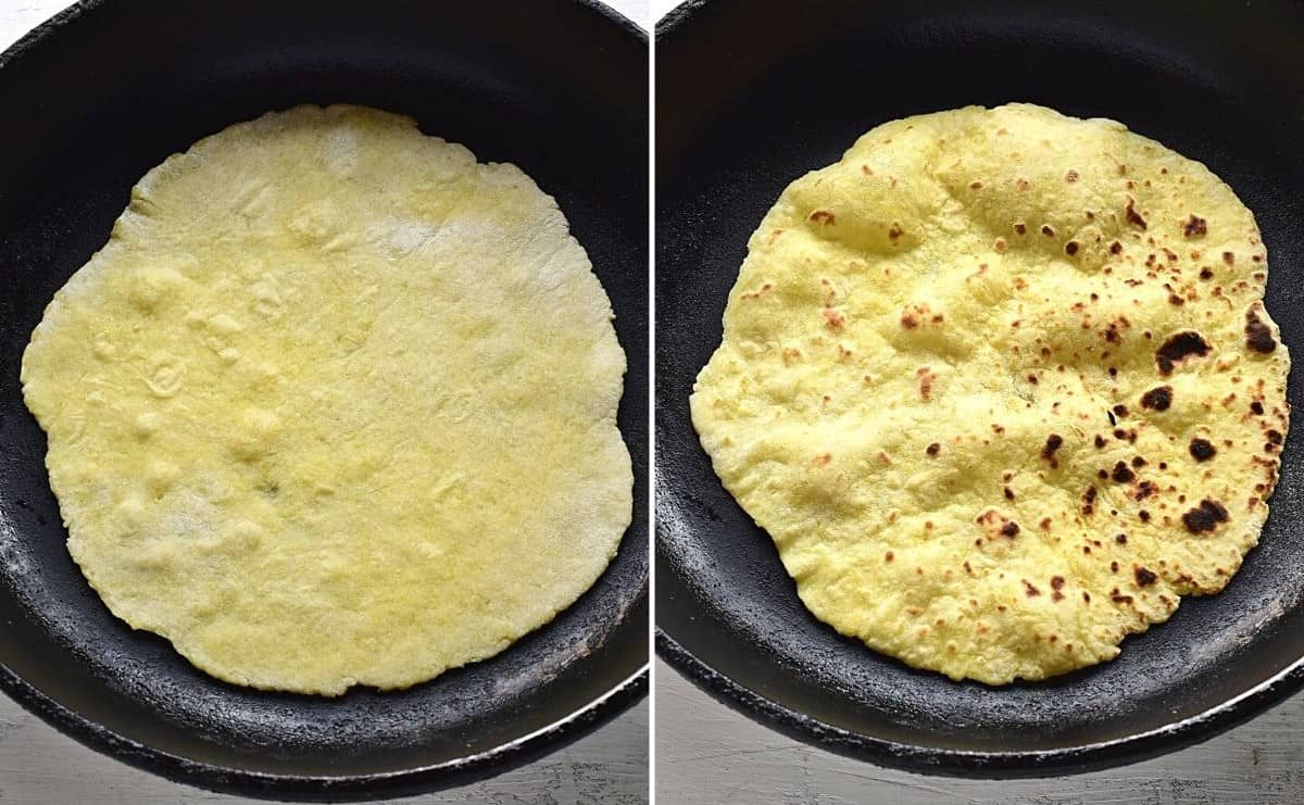 Kartoffelpfannkuchen backen