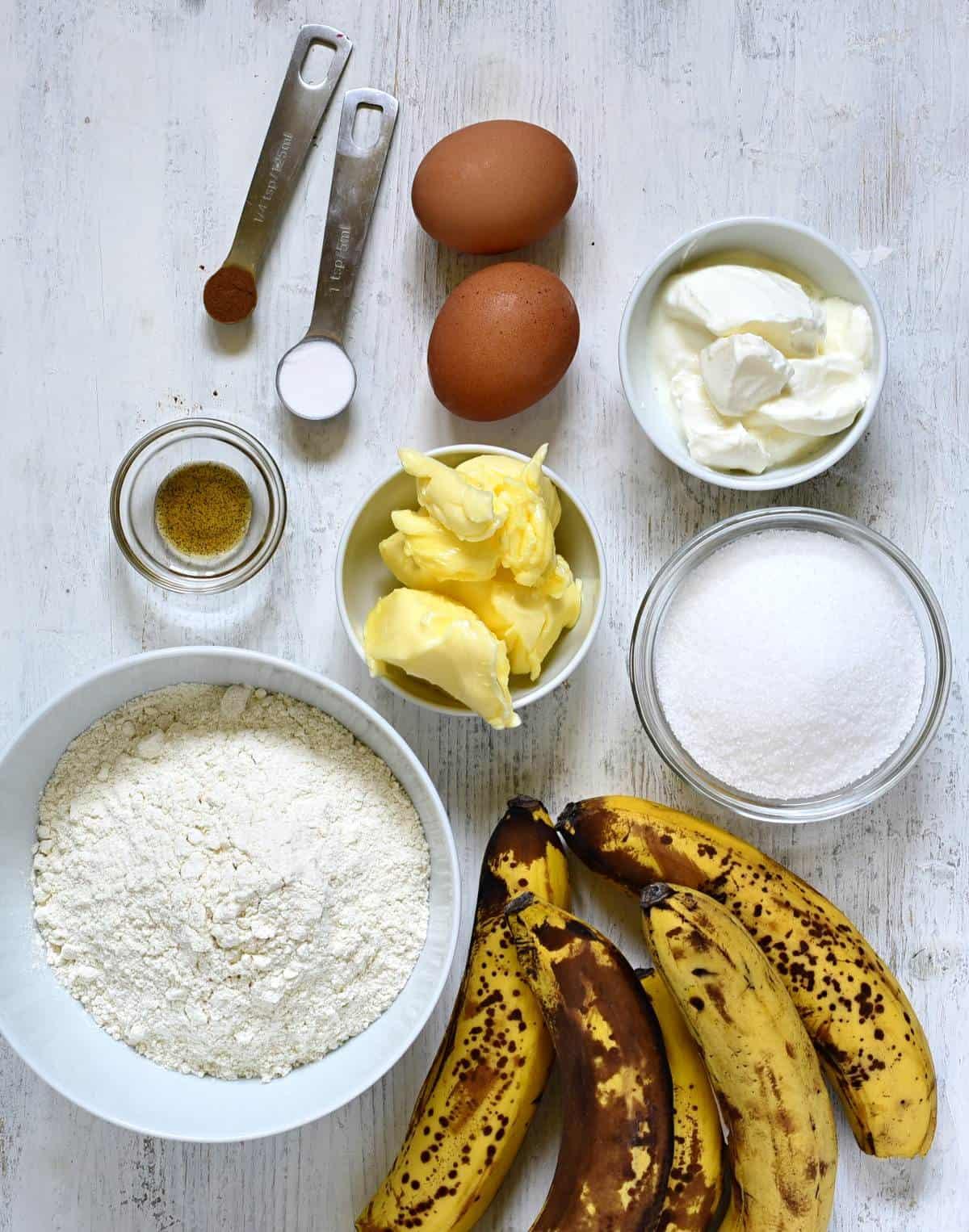 Bananenbrot zutaten