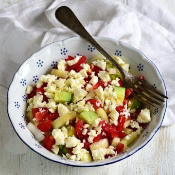 Schopska Salat Rezept