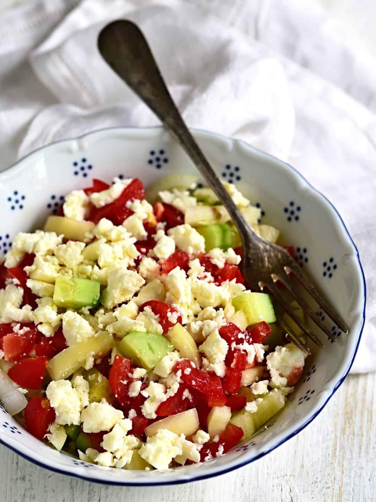 Schopska Salat