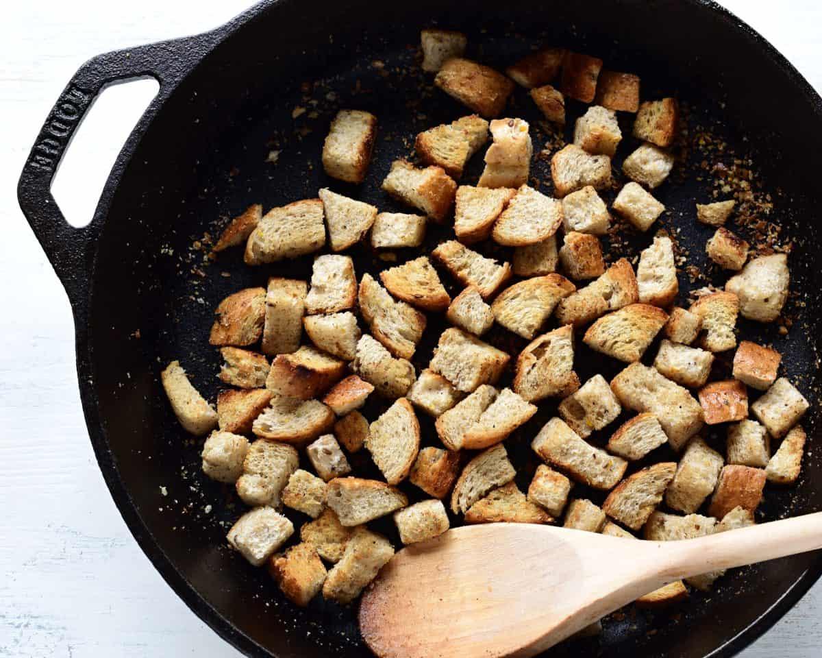 brot croutons zubereitung