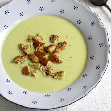 Grüne Erbsensuppe Rezept